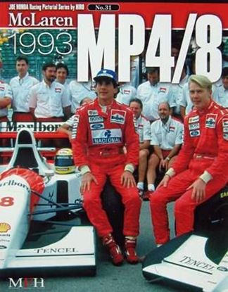 Picture of MCLAREN MP4/8 1993: RACING PICTORIAL SERIES BY HIRO N.31
