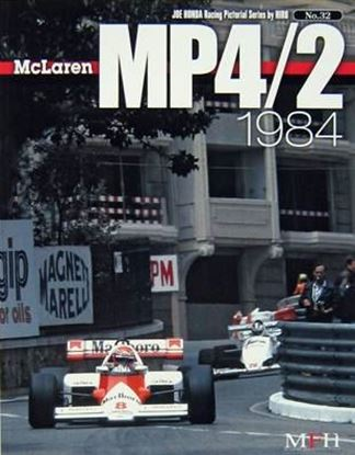 Immagine di MCLAREN MP4/2 1984 RACING PICTORIAL SERIES BY HIRO N.32