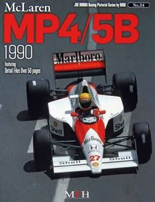Picture of McLAREN MP4/5B 1990: RACING PICTORIAL SERIES BY HIRO N.34