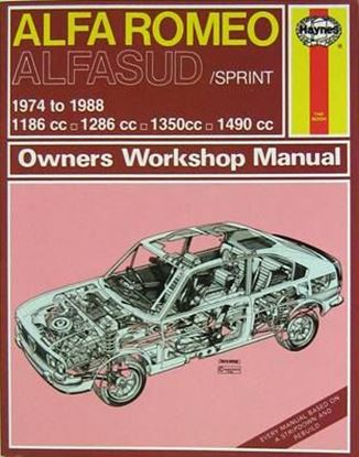 Immagine di ALFA ROMEO ALFASUD/SPRINT 1974-88 CLASSIC REPRINT-OWNERS WORKSHOP MANUAL N.292.