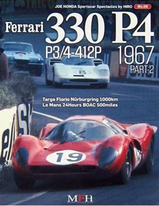 Picture of FERRARI 330 P4 P3/4-412P 1967 PART-2: SPORTSCAR SPECTACLES SERIES BY HIRO N.02