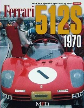Immagine di FERRARI 512S 1970 SPORTSCAR SPECTACLES SERIES BY HIRO N.05