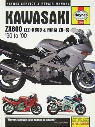 Immagine di KAWASAKI ZX600 (ZZ-R600 & NINJA ZX-6) 1990-2000 OWNERS WORKSHOP MANUAL N. 2146