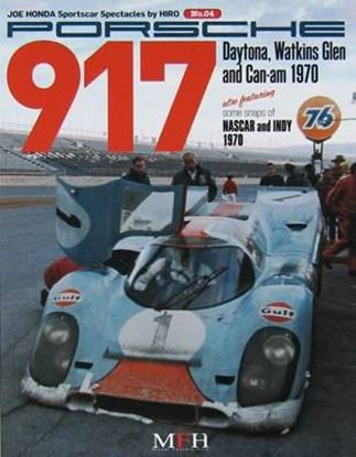 Immagine di PORSCHE 917 DAYTONA WATKINS GLEN AND CAN-AM 1970 SPORTSCAR SPECTACLES SERIES BY HIRO N.04