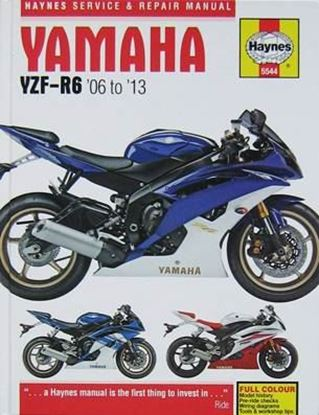 Picture of YAMAHA YZF-R6 2006 to 2013 SERVICE AND REPAIR MANUAL N. 5544