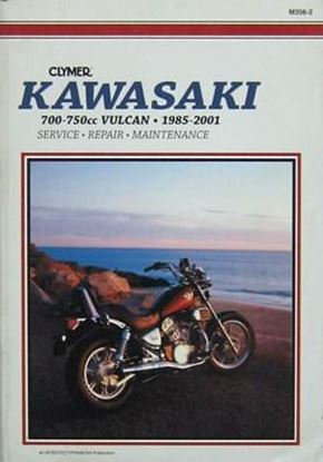 Picture of KAWASAKI 700-750cc VULCAN 1985-2001 - M356-2 - CLYMER REPAIR MANUALS