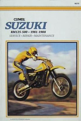 Picture of SUZUKI RM 125 500 1981-88 - M379 - CLYMER REPAIR MANUALS