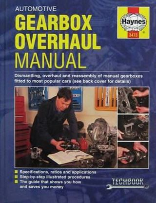 Picture of AUTOMOTIVE GEARBOX OVERHAUL MANUAL OWM 3473