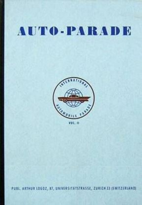 Immagine di INTERNATIONAL AUTOMOBILE PARADE VOL.II 1959