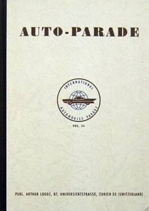 Immagine di INTERNATIONAL AUTOMOBILE PARADE VOL.III 1960