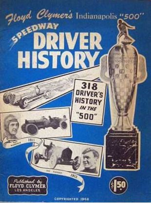 Picture of FLOYD CLYMER'S INDIANAPOLIS 500 SPEEDWAY DRIVER HISTORY