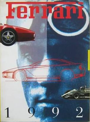 Picture of FERRARI ANNUARIO/OFFICIAL YEARBOOK 1992 - Testo inglese/English text