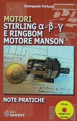 Picture of MOTORI STIRLING E RINGBOM MOTORE MANSON - NOTE PRATICHE (libro + CD-Rom)
