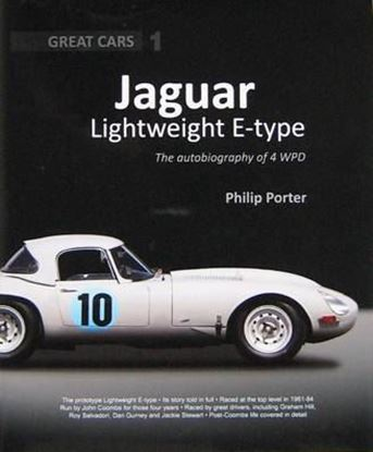 Immagine di JAGUAR LIGHTWEIGHT E-TYPE THE AUTOBIOGRAPHY OF A 4 WPD