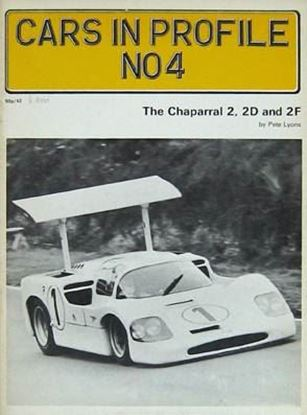 Picture of THE CHAPARRAL 2 2D AND 2F - CARS IN PROFILE N.4