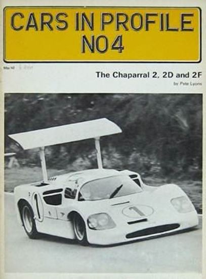 Immagine di THE CHAPARRAL 2 2D AND 2F - CARS IN PROFILE N.4