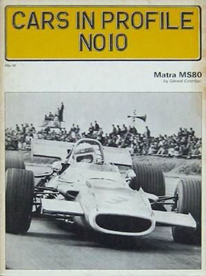 Picture of MATRA MS80 - CARS IN PROFILE N.10
