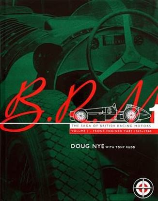 Picture of BRM VOL.1-2-3 1945-1969 THE SAGA OF BRITISH RACING MOTORS