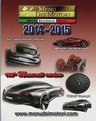 Picture of MENU DEI MOTORI 100th MASERATI 2014/2015