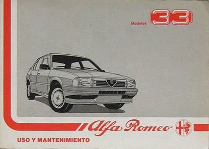 Picture of ALFA 33 USO Y MANTENIMIENTO