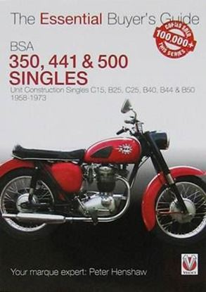 Picture of BSA 350 & 500 UNIT CONSTRUCTION SINGLES: THE ESSENTIAL BUYER'S GUIDE