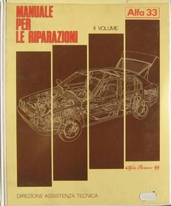 Picture of ALFA 33 MANUALE PER LE RIPARAZIONI VOLUME II 1988