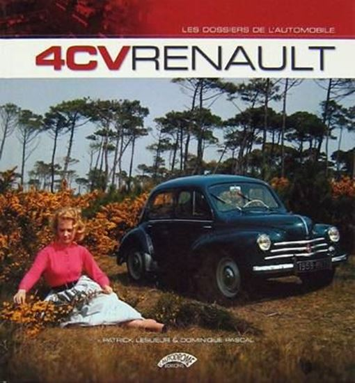 "Picture of 4CV RENAULT - ""Les Dossiers de L'Automobile"""