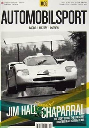 Immagine di AUTOMOBILSPORT N. 5 SPECIAL JIM HALL & CHAPARRAL 1961-1970