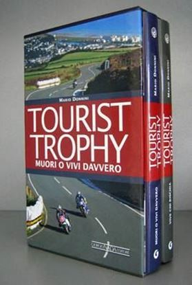 Picture of TOURIST TROPHY MUORI O VIVI DAVVERO + TOURIST TROPHY VIVE CHI RISCHIA in cofanetto FIRMATO DALL'AUTORE - ED. LIMITATA DI 200 PEZZI / with slipcase - LIMITED EDITION SIGNED BY THE AUTHOR