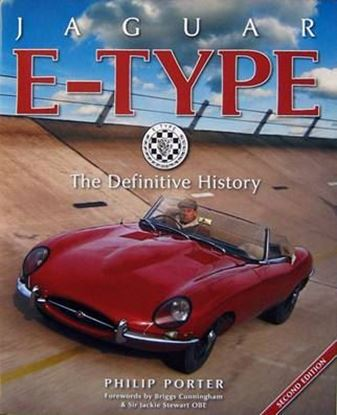 Picture of JAGUAR E-TYPE THE DEFINITIVE HISTORY 2nd Edition 2015