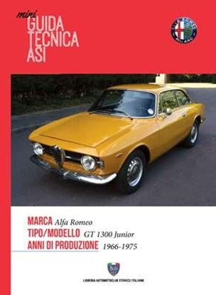Picture of ALFA ROMEO GT 1300 JUNIOR 1966-1975: MINI GUIDA TECNICA ASI
