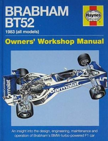 Picture of BRABHAM BT52 1983 (ALL MODELS): an insight into the design engineering maintenante and operation of Brabham's Bmw-turbo-powered F1 car