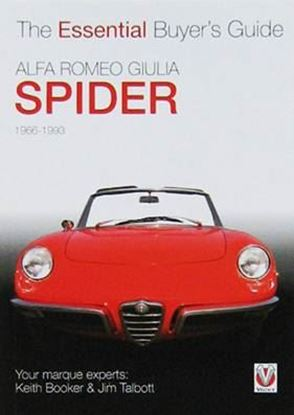 Immagine di ALFA ROMEO GIULIA SPIDER 1966-1993 THE ESSENTIAL BUYER'S GUIDE