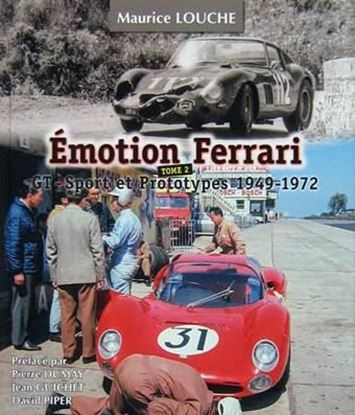 Picture of EMOTION FERRARI TOME 2 GT SPORT ET PROTOTYPES 1949-1972