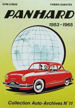 "Picture of PANHARD 1953-1965 VU PAR LA PRESSE - ""Auto Archives"" N.11"