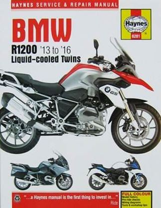 Immagine di BMW R1200 LIQUID-COOLED TWINS 2013 TO 2016 SERVICE AND REPAIR MANUAL N. 6281