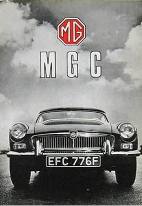 Picture of MG MGC HANDBOOK