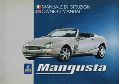 Picture of MANGUSTA MANUALE DI ISTRUZIONI/OWNERS'S MANUAL