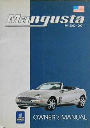 Picture of MANGUSTA MY 2000-2001 OWNER'S MANUAL