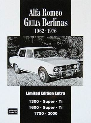 "Immagine di ALFA ROMEO GIULIA BERLINAS 1962/1976 LIMITED EDITION EXTRA. Serie ""Brooklands Books"""