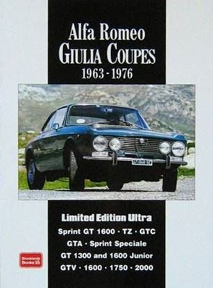 Immagine di ALFA ROMEO GIULIA COUPES 1963/1976 LIMITED EDITION ULTRA