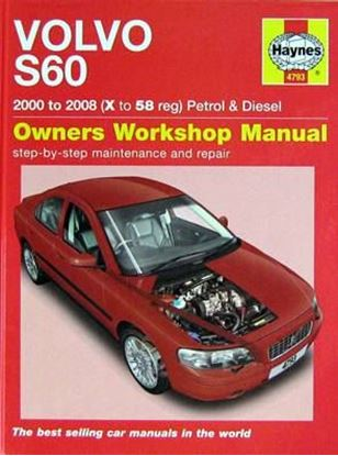 Immagine di VOLVO S60 2000 to 2008 (X to 58 reg) Petrol & Diesel OWNERS WORKSHOP MANUAL N. 4793