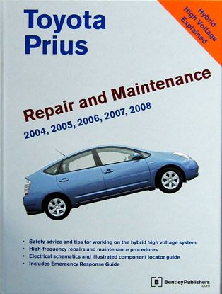 Immagine di TOYOTA PRIUS 2004-2008 REPAIR AND MAINTENANCE