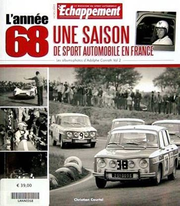 Picture of L'ANNEE 68 UNE SAISON DE3 SPORT AUTOMOBILE EN FRANCE: HORS SERIE ECHAPPEMENT VOL.2