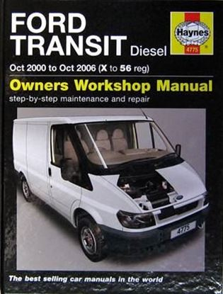 Immagine di FORD TRANSIT DIESEL OCT.2000 TO OCT.2006 (X TO 56 REG) OWNERS WORKSHOP MANUAL N. 4775