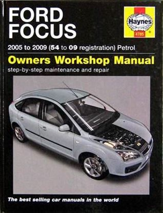 Picture of FORD FOCUS 2005 TO 2009 PETROL (54 TO 09 REGISTRATION) OWNERS WORKSHOP MANUAL N. 4785