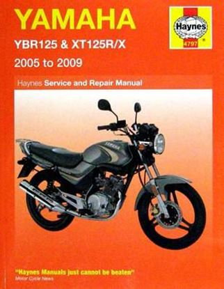 Immagine di YAMAHA YBR125 & XT125R/X 2005 TO 2009 SERVICE AND REPAIR MANUAL N. 4797