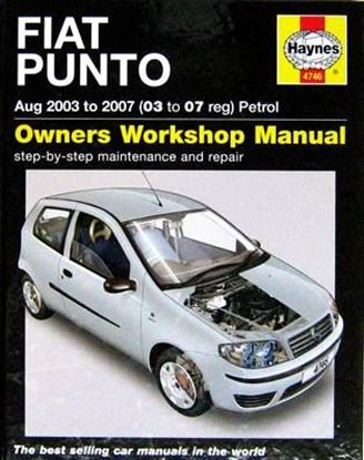 Immagine di FIAT PUNTO Aug 2003 to 2007 (03 to 07 reg) PETROL SERVICE AND REPAIR MANUAL N. 4746