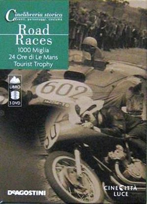 Picture of ROAD RACES: 1000 MIGLIA-24 ORE DI LE MANS-TOURIST TROPHY (3 DVD + LIBRO)
