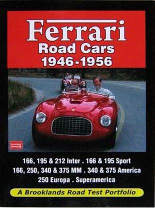 Picture of FERRARI ROAD CARS 1946-1956: A BROOKLANDS ROAD TEST PORTFOLIO